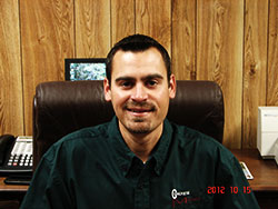 Chad Grimmett, Sales and Project Manager