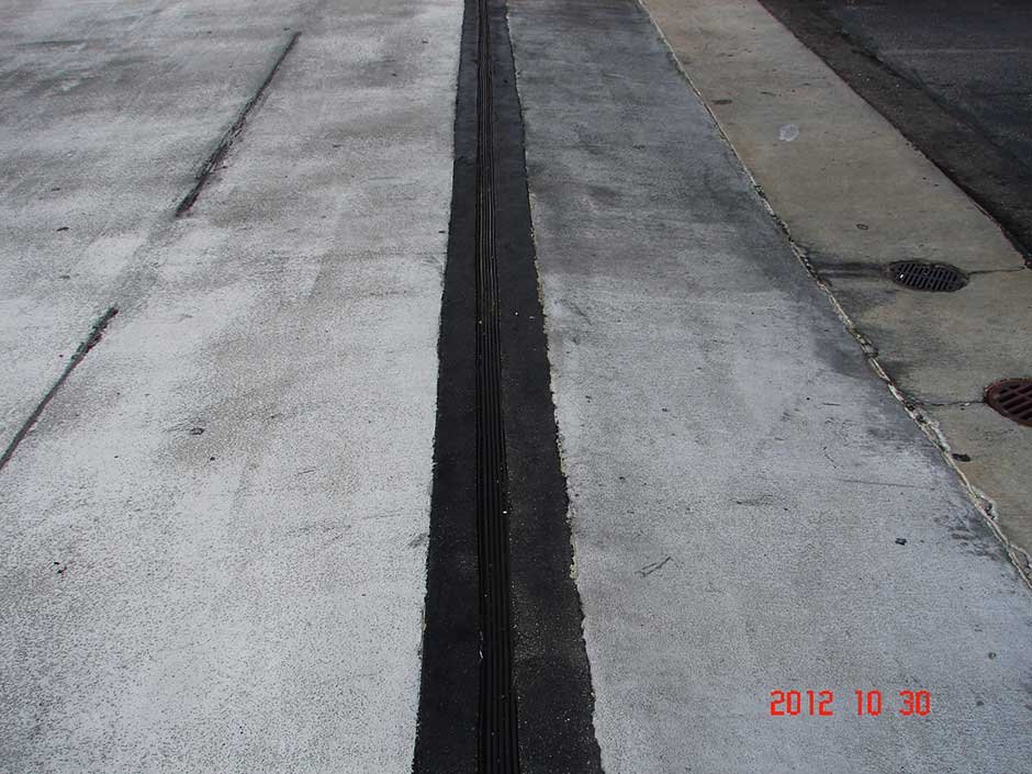 Expansion Joint For Concrete : Expansion joint systems from c m restoration