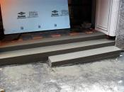 Concrete Steps Installed with Ready Mix Concrete