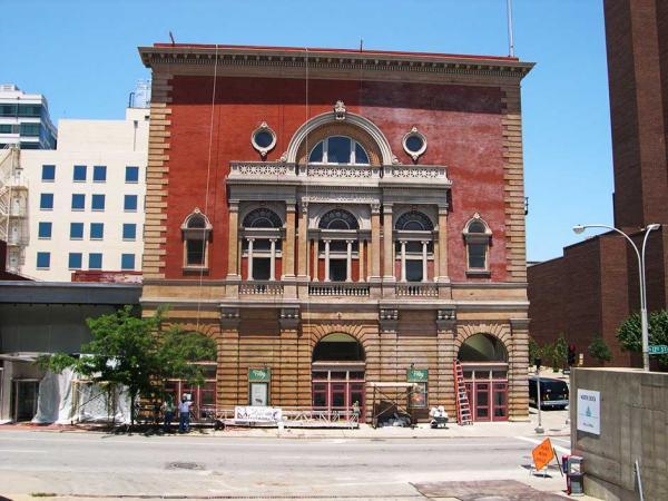 Folley Theatre Brick Restoration