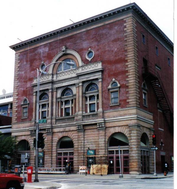 Folly Theatre Before Brick Restoration