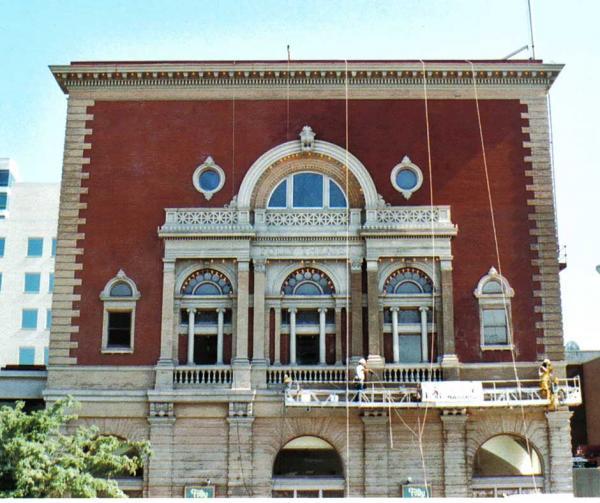 Folly Theatre After Brick Restoration