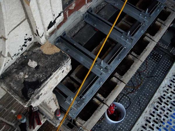 Raphael Steel Balcony Project