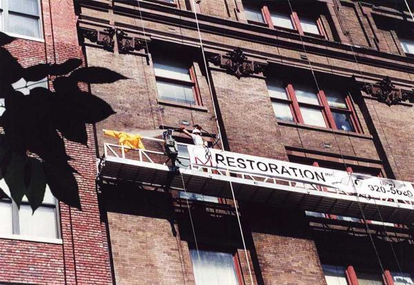 Commercial Brick Restoration and Masonry Cleaning