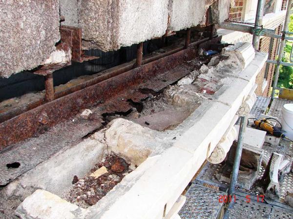 Commercial Terra Cotta Repairs