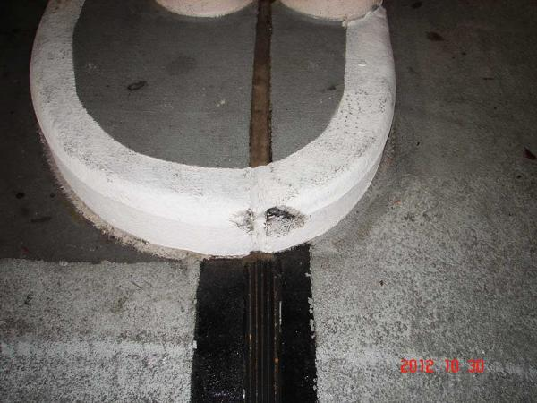 Expansion Joint on a Building