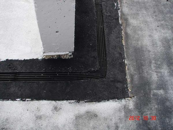 Expansion Joint on a Structure