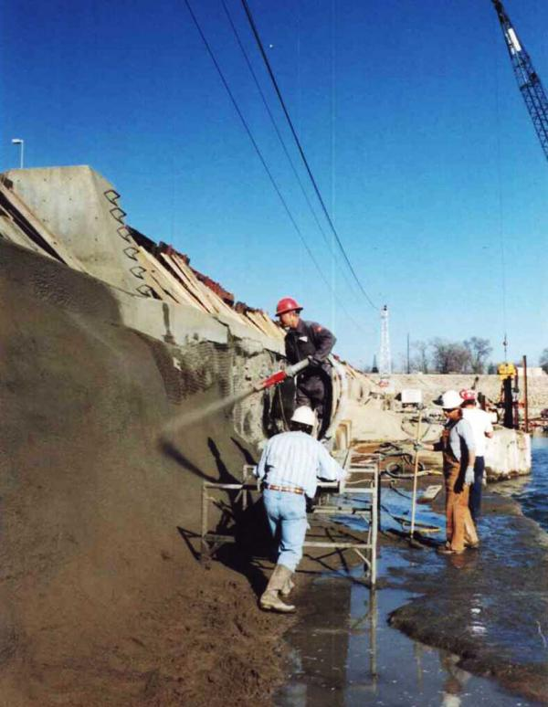 Dry Process Gunite Installation Process