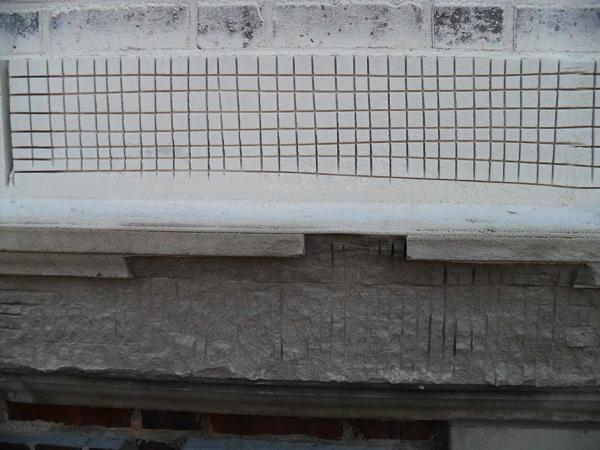 Limestone Preparation for Patch