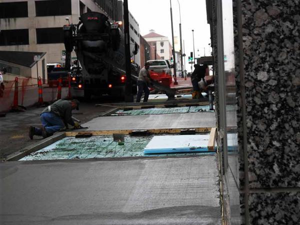 Concrete Restoration with Ready Mix Concrete