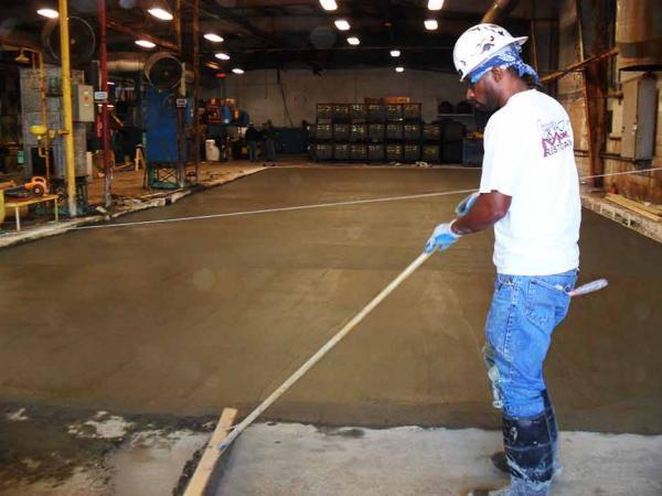 Concrete Floor Restoration with Ready Mix Concrete