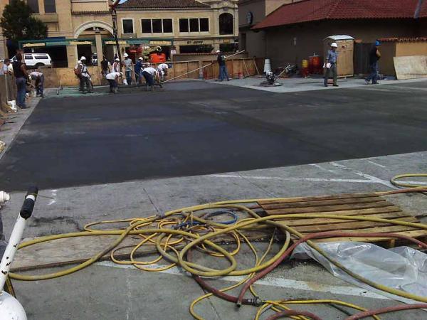 Commercial Concrete Restoration with Ready Mix Concrete