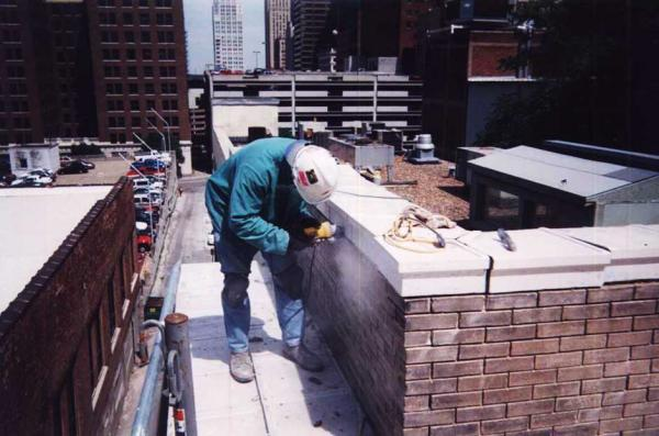 Commercial Masonry Repointing Project