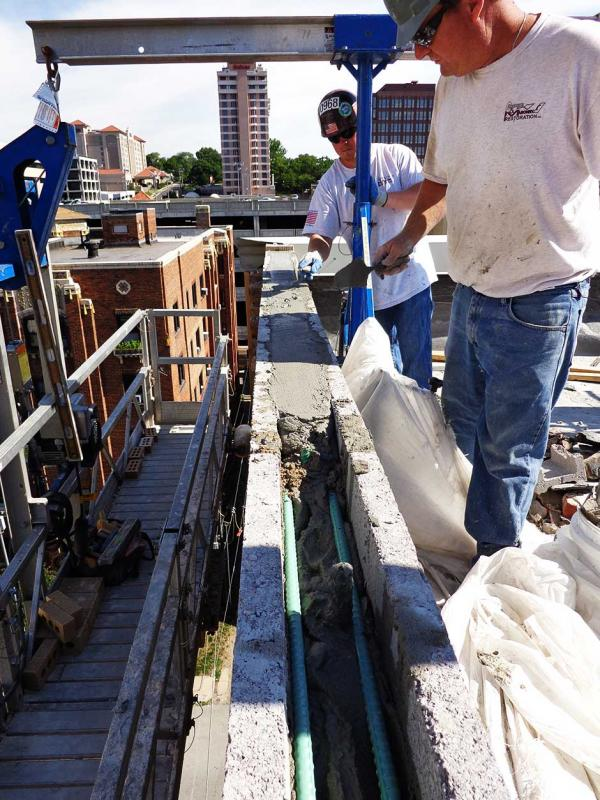 Commercial Block Restoration