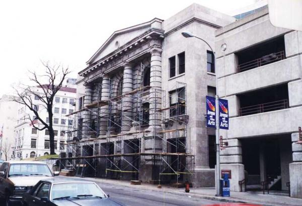 Commercial Building Stone Restoration