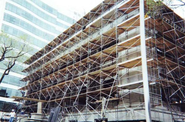 Commercial Stone Restoration Project