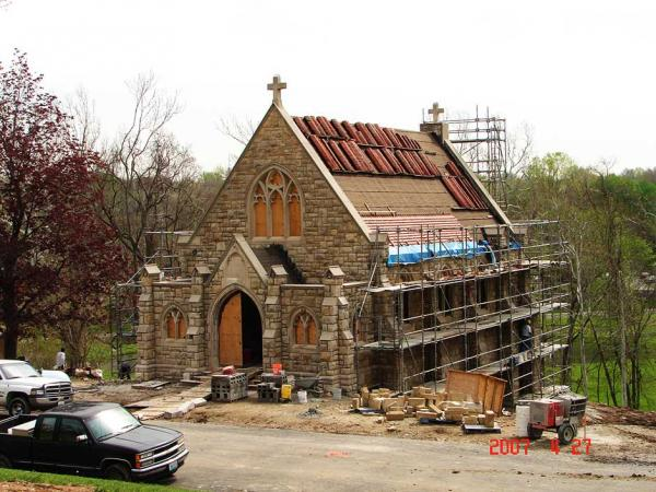 Commercial Stone Restoration for a Church