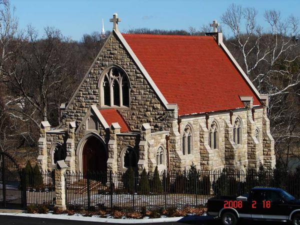 Church Stone Restoration After Repairs