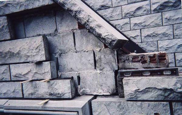 Commercial Stone Veneer Restoration