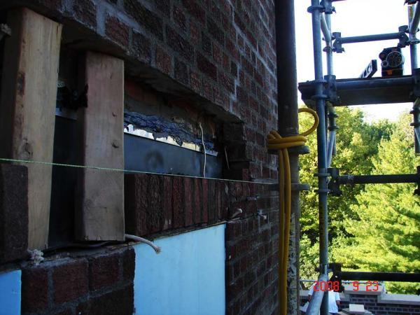 Thru Wall Installation Project