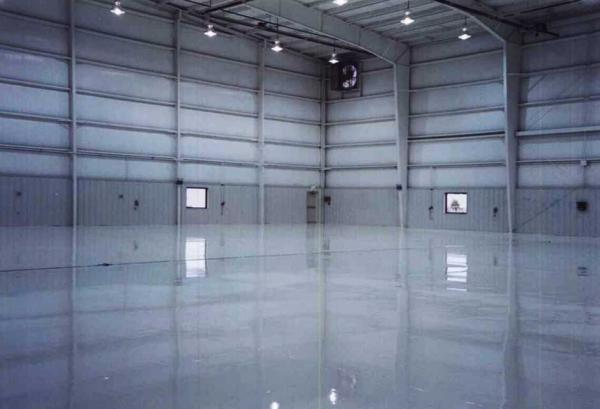 Commercial Urethane Concrete Coatings Project