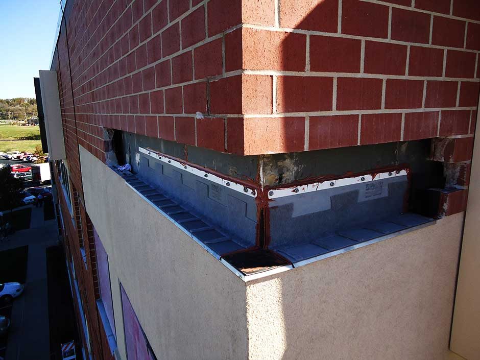 Exterior Wall Flashing : Thru wall flashing kansas city c m restoration