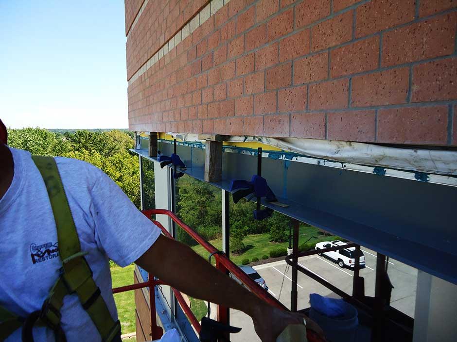 Thru Wall Flashing Kansas City C Amp M Restoration